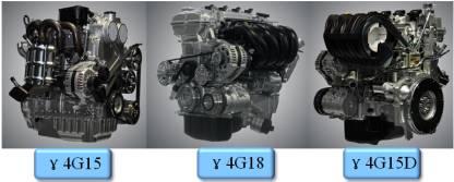 吉利三款系列发动机