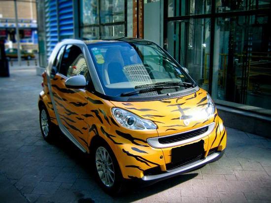 虎年推出的虎年限量版smart
