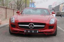 2010北京车展探馆之奔驰鸥翼超跑SLS AMG