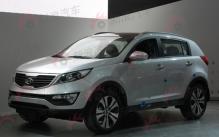 2010北京车展探馆之起亚新狮跑亮相
