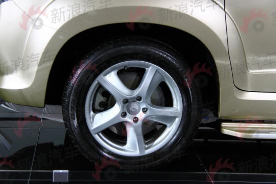 图为帝豪城市SUV EX9轮毂