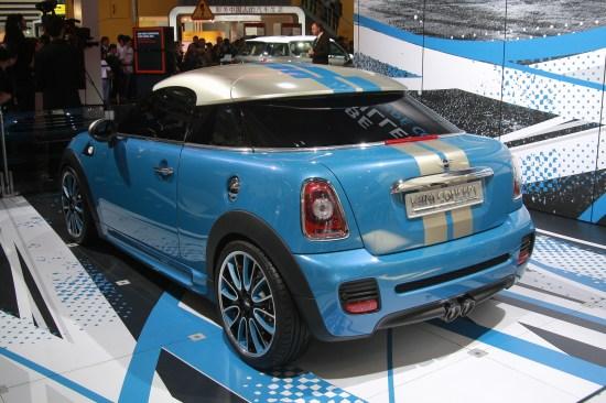 图为MINI Roadster概念车