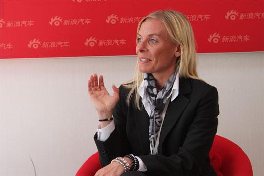 沃尔沃汽车公司沃尔沃S60全球项目经理马林女士