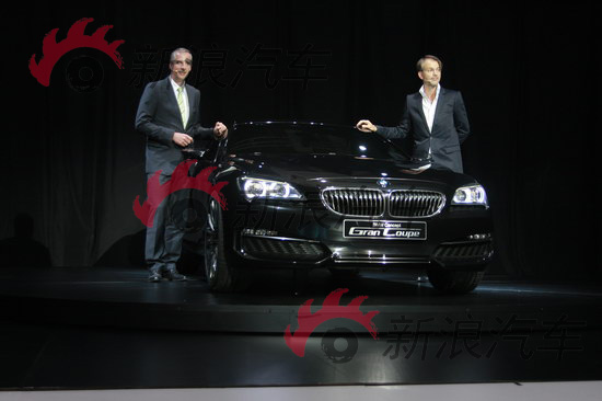 宝马发布全新4门轿跑概念车