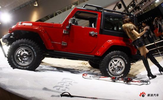 Jeep Wrangler牧马人双子版