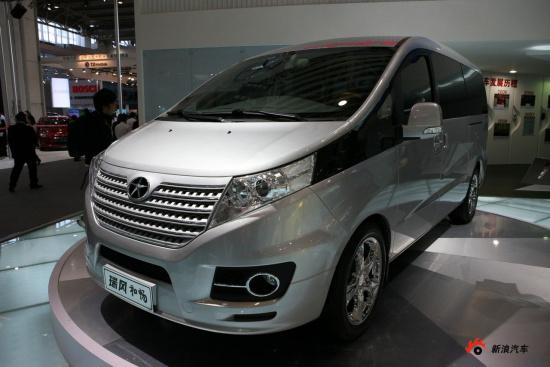 江淮MPV高端车型瑞风 和畅北京车展首发高清图片