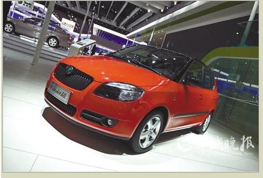 Fabia晶锐2011年度车型升级上市