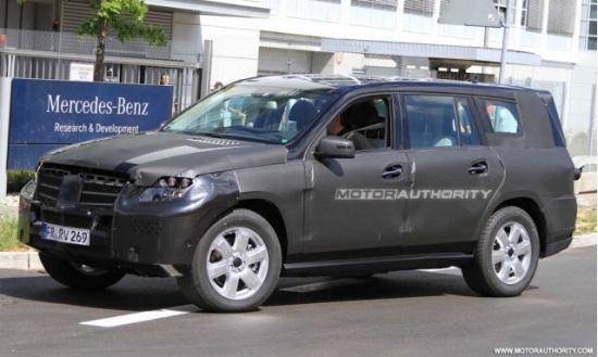 2012款奔驰GL伪装照