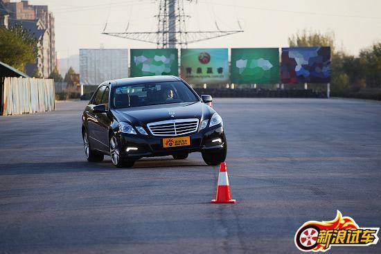 北京奔驰E300L外观图片