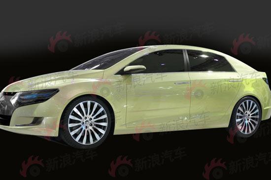 一汽大众自主品牌首款概念车型独家曝光