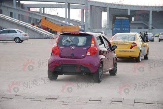 2010广州车展探馆 江淮和悦电动车与和畅车队