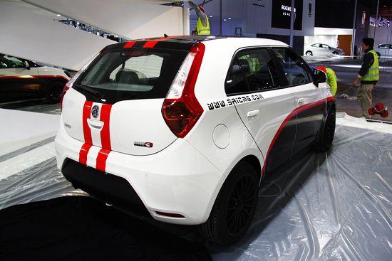 上海汽车MG3登陆广州车展