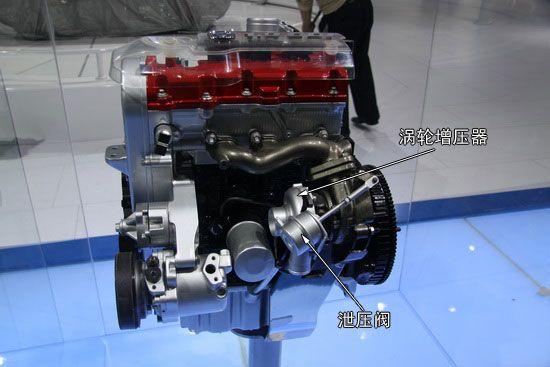 1.0L GDI CT直喷发动机 最大高度580mm 非常小巧