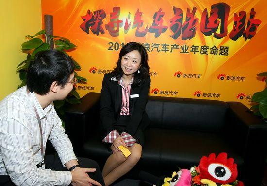 奔驰中国汽车销售有限公司公共关系及媒体传播副总裁王燕女士