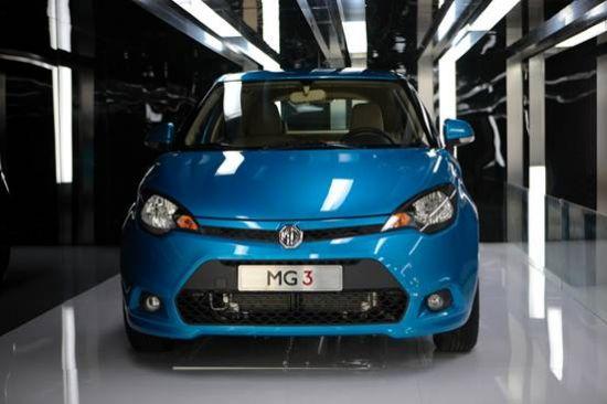 第六代小车:全新MG3