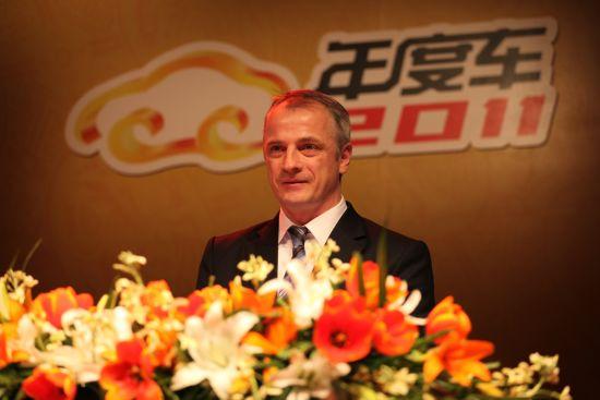 上海大众汽车销售有限公司副总经理唐睿思致获奖感言