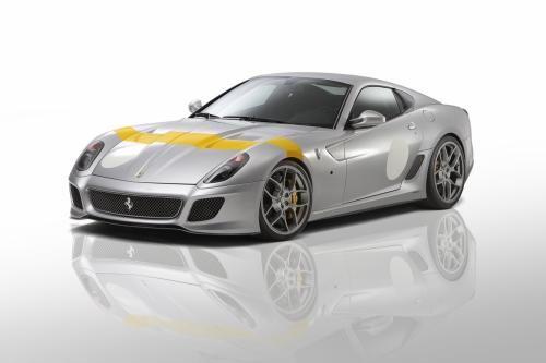 改装版法拉利599 GTO将亮相日内瓦