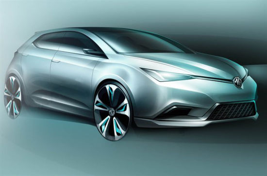 MG 5概念车将在上海车展首发