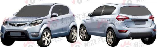 长安首款SUV车型曝光
