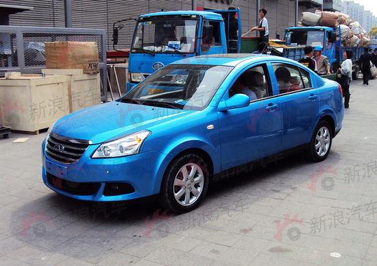 2011上海车展探馆:奇瑞E5独家抢先实拍