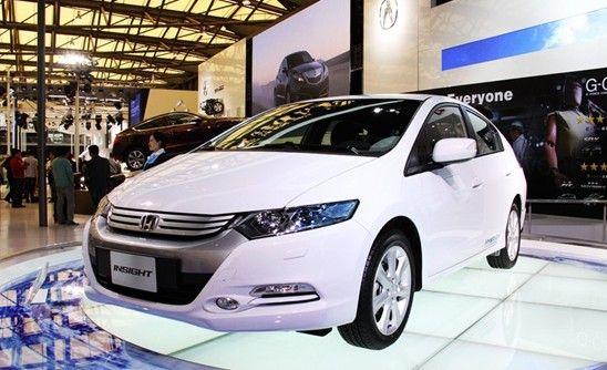 本田INSIGHT混合动力车2012年在东本销售