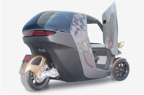 KTM E3W电动车首发