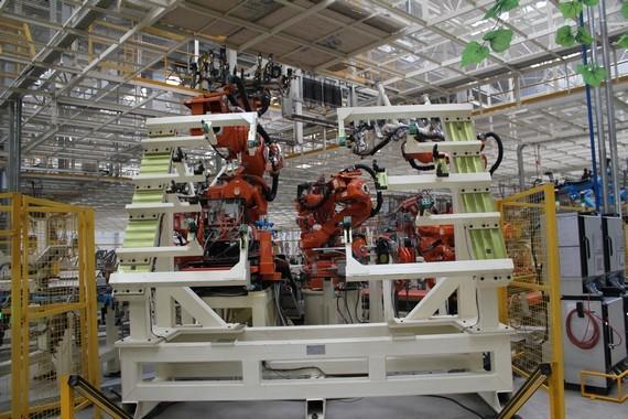 哈弗H6组装生产线