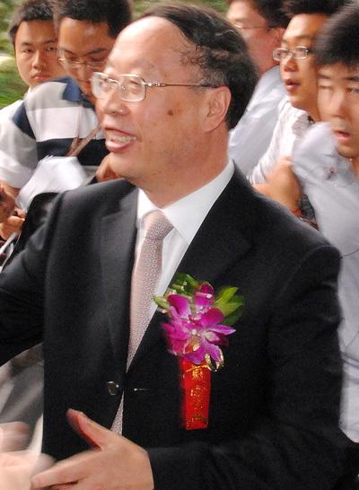 工信部副部长苏波在接受采访