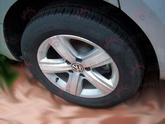 大众全新夏朗轮胎
