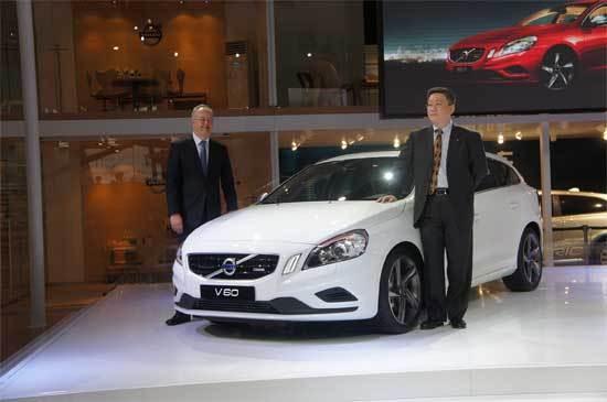 新沃尔沃V60中国预展 展现潮流生活理念