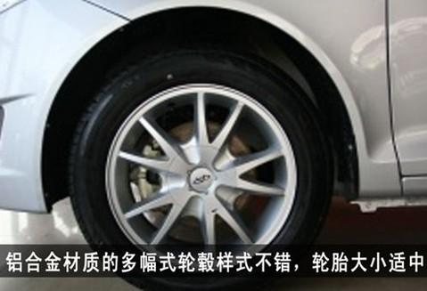 图3:风云2 两厢轮胎尺寸为185/60 R15