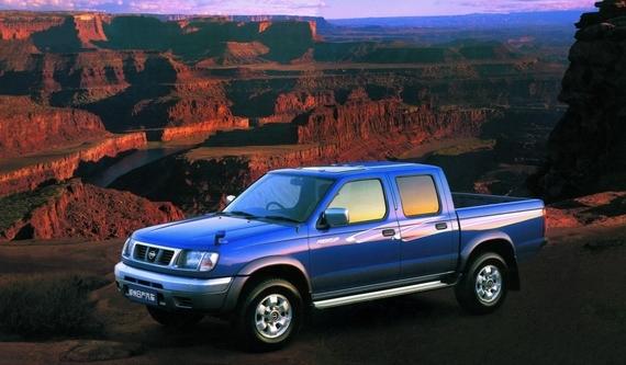 1999年1月郑州日产成功导入日产最新开发的D22系列皮卡