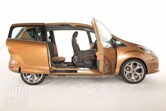 福特B-MAX细节曝光 日内瓦车展首发