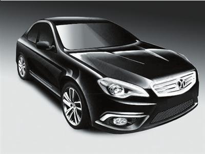 北汽版萨博首款车型曝光 9月份上市