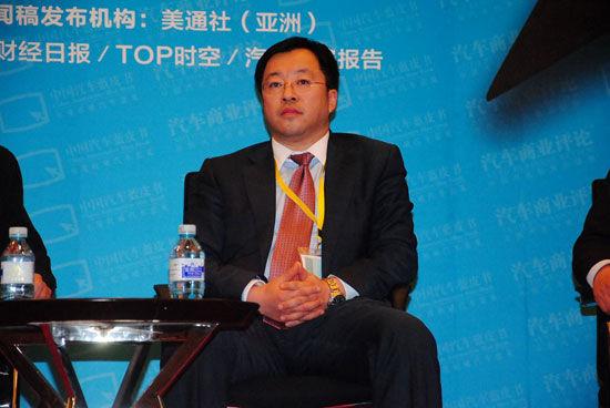 北京现代汽车公司副总经理刘智丰