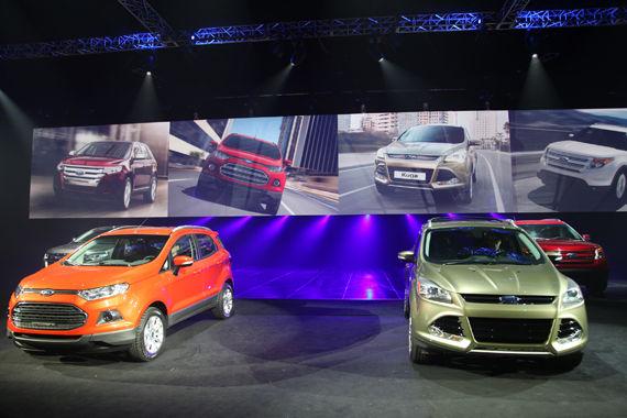 福特携家族四款全新SUV登陆中国市场