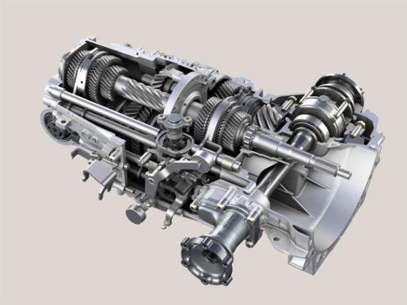 Zf七速手动变速箱与pdk共享传动机构 Ɩ�浪汽车 Ɩ�浪网