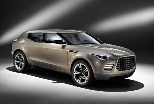 阿斯顿-马丁新款Lagonda SUV概念车曝光