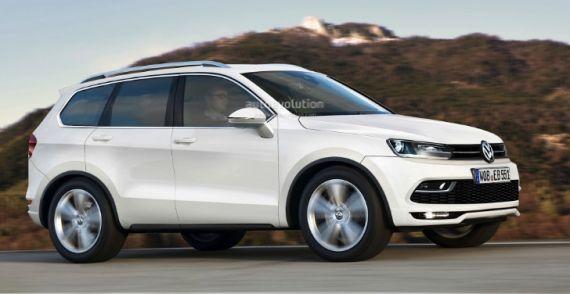 大众将推中型SUV 定位途观与途锐之间
