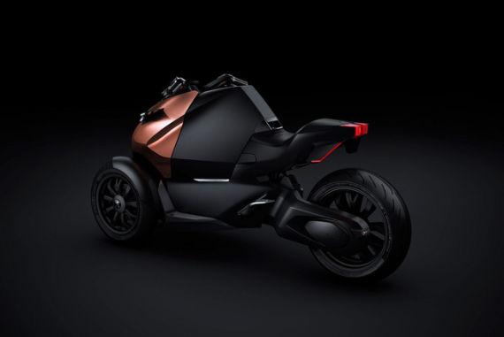 标致Onyx概念版摩托