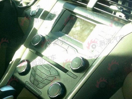 长安福特新一代蒙迪欧2.0GDI车型