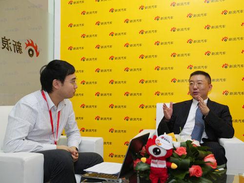 上海通用汽车的副总经理蔡宾先生