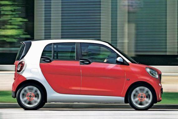 三款Smart全新车型曝光 与雷诺全面合作