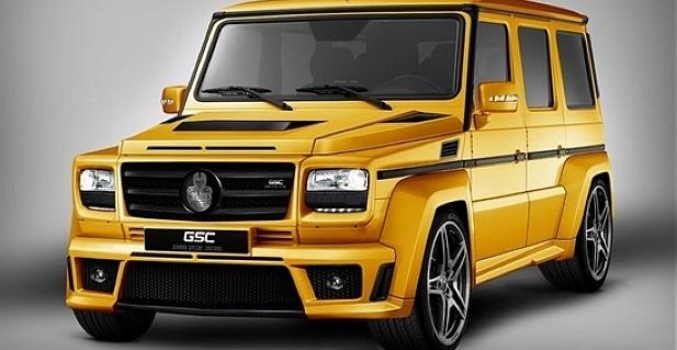 黄金战车 德国GSC改装奔驰G- Class