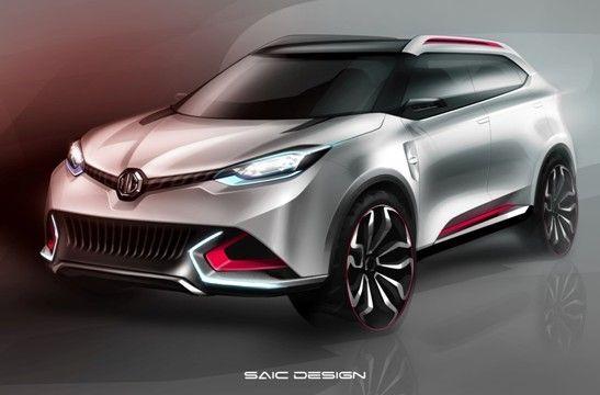 MG首款量产SUV车型CS将首发上海车展