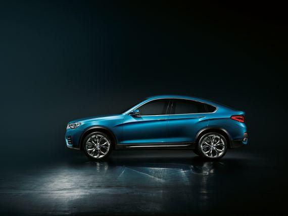 BMW Concept X4概念车外观