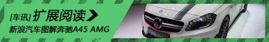 新浪汽车静态图解奔驰A45 AMG