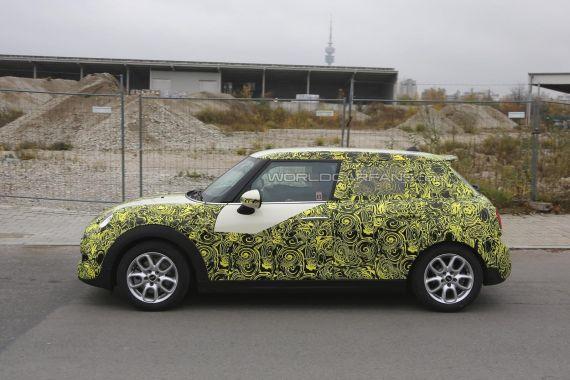 MINI 5-Door Hatchback Spy 03