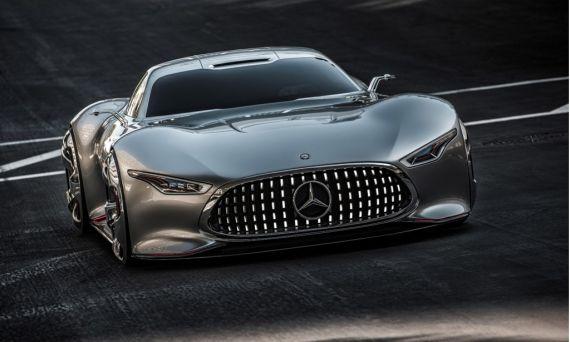 奔驰AMG Vision Gran Turismo发布