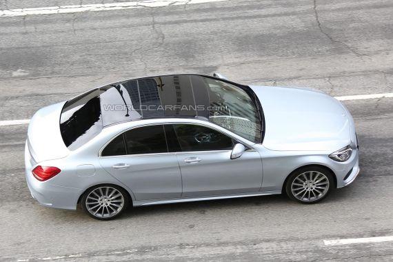 Mercedes-Benz C-Class Spy 12